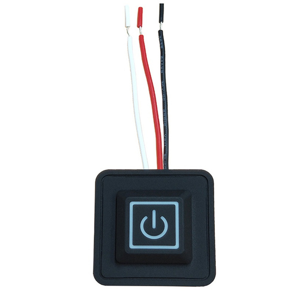 5V-15V 3 Gear Temp Control Waterproof Heating Switch Clothes Silicone Button BE