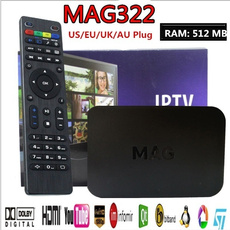 Box, tvreceiver, mag322, Cable