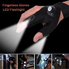 Flashlight, fingerlessglove, fingerled, led