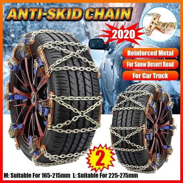 Winter Anti-skid Chains For Truck Wheel Tyre Tire Car Skid Snow Belt Universal