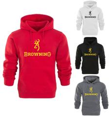 hooded, pullover hoodie, men clothing, Deer
