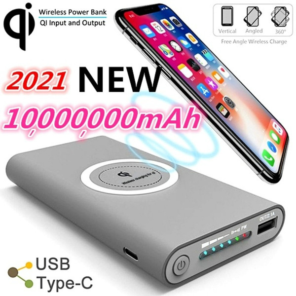 Best Power Banks 2021 Best Gifts!!!2021 Style Ultra huge Capacity Power Bank Wireless