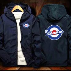 hooded, Coat, vespamotorcycle, Jacket