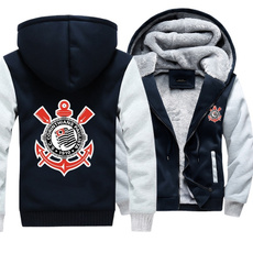 Fleece, Fashion, Zip, Coat