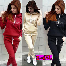 Women, Fashion, sport pants, pullover hoodie