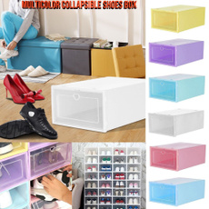 Box, Foldable, shoeorganizer, Clear
