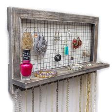 Collar, Wall Mount, jewelrywallholder, Earring