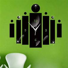 mirroreffectwallsticker, Home Decor, walldecoration, Modern