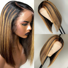 bobstraightwig, full lace human hair wigs, lacefronthumanhairwig, Straight Hair