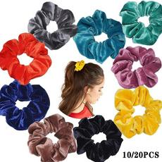 hairrope, hairscrunchie, velvet, Elastic