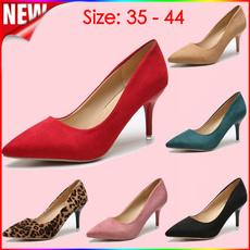 Plus Size, Womens Shoes, Leopard, High Heel