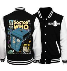Fashion, autumnwintercoatjacket, cottonbaseballjersey, doctorwhojacketcoat