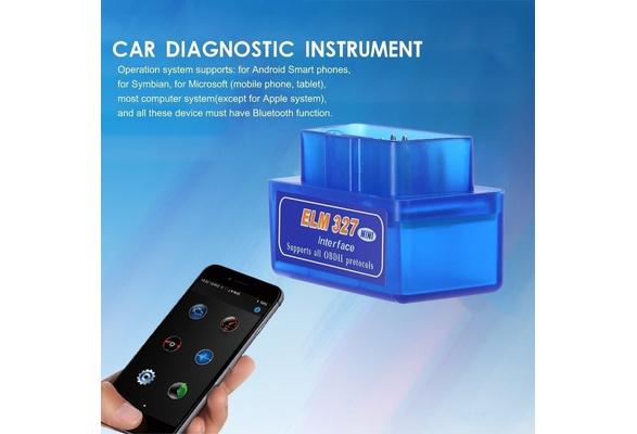 BK3231 Mini ELM327 OBD2 II Bluetooth Vehicle Car Diagnostic Tool Auto Scanner MA