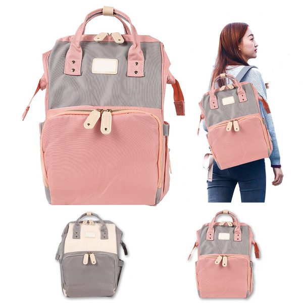 Baby Diaper Nappy Changing Mummy Bag Rucksack Hospital Maternity Backpack