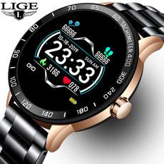 Heart, smartwatche, Men, Waterproof Watch