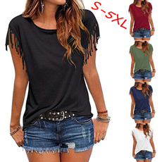 Summer, Tassels, Tees & T-Shirts, Tops & Blouses