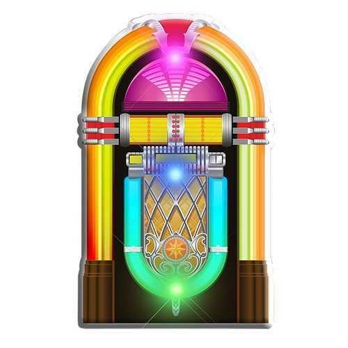 Jukebox Flashing Body Light Lapel Pins