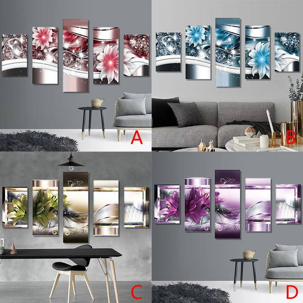 DIY 5D Diamond Painting Embroidery Cross Crafts Stitch Home Decoration Kit