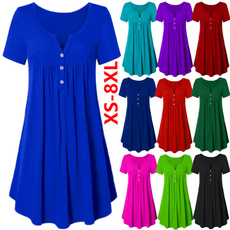 Summer, Plus Size, Dress, casual dresses