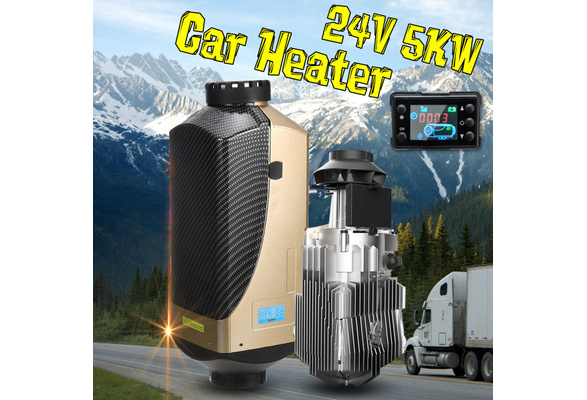 Car Diesel Air Heater Motherboard for 12V//24V 5KW 3KW 8KW LCD Control Board for Car,RV,Vans,Trucks Black