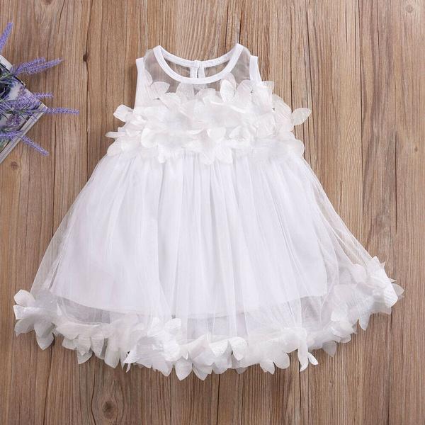 Baby Girl Toddler Party Tutu Dress Pageant Wedding Birthday Princess Christening