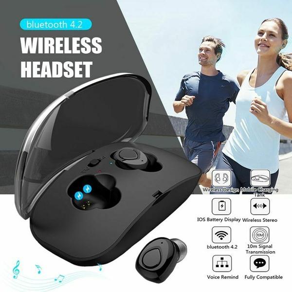 Bluetooth 5 0 Headset Tws Wireless Earphones Mini Stereo Headphones Earbuds 2020 Xi8 Bluetooth Headset Wish