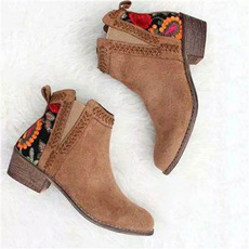 ankle boots, short boots, Spring/Autumn, Womens Shoes