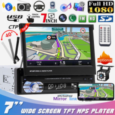 Touch Screen, carstereo, retractable, usb