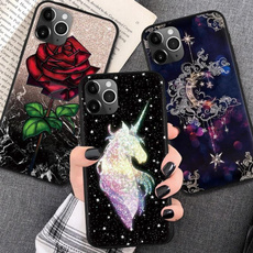 case, Flowers, Iphone 4, unicorn