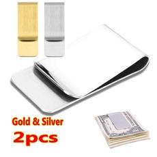 cardclip, Steel, Stainless Steel, slim wallet