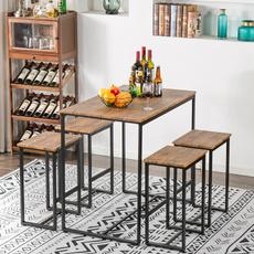 diningroomset, Simple, wooddiningtable, moderndiningtable