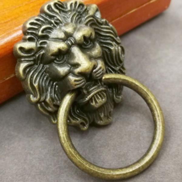 Handles Vintage Lion Head Cabinet S