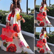 Plus Size, sundress, Dress, Floral dress