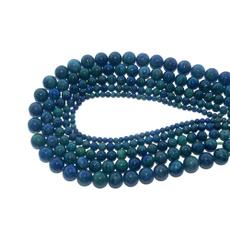 chrysocolla, gemstonebracelet, Bead, beadsforbracelet