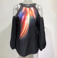 blouse, off shoulder top, Plus Size, Tops & T-Shirts