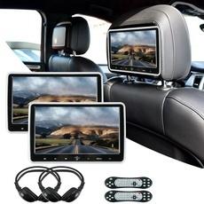 withheadphone, Cars, headrest, DVD
