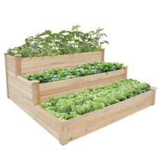 planter, outdoordecor, Wooden, Beds