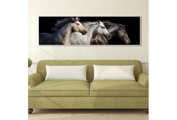 Painting Print on Canvas Animal Horse Poster Wall Art For Home Decor Modern
