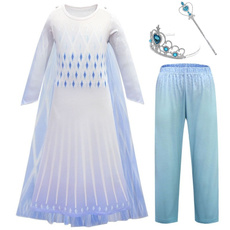 elsa dress, Leggings, Princess, wand