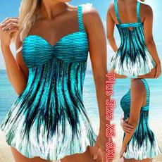 Plus Size, Fashion, Bikini swimwear, women swimsuit