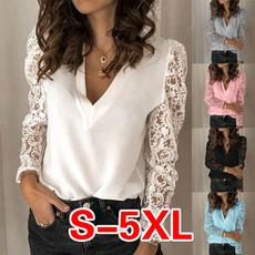 blouse, Tops & Tees, Plus Size, Lace