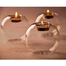 glasscandleholder, decoration, Home Decor, Home & Living