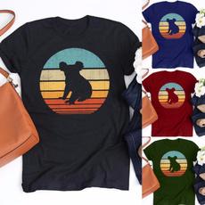 koalatshirt, fashiontshirtforwomen, Cotton T Shirt, Tops