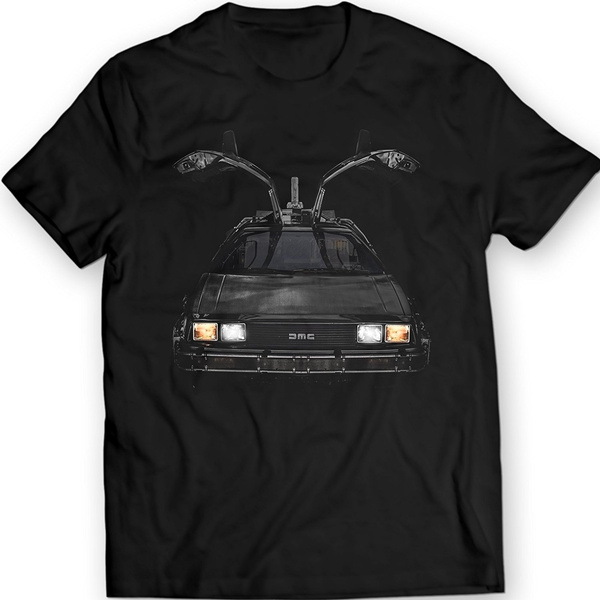 DeLorean DMC-12 T-Shirt Retro DMC Car Men/'s T-Shirt