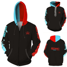 3D hoodies, myheroacademia, Cosplay, Sweaters