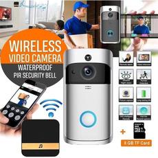 Indoor, recordingdoorbell, gadget, doorbellwirele