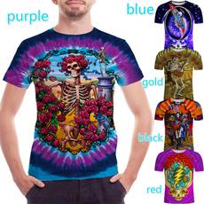 Fashion, Shirt, skull, Music