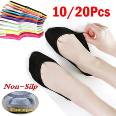 non-slip, boatsock, womensock, Socks