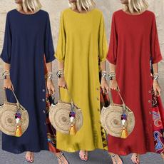 dressforwomen, Plus Size, vestidoslongo, Sleeve