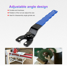 Adjustable Angle Grinder Key Pin Plastic Handle Pin Wrench Heavy Duty Spanner GA